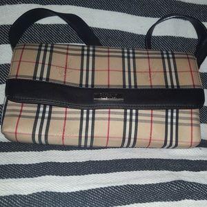 Classic Burberry satchel